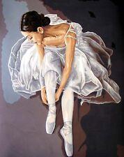 Grafitec Printed Tapestry Needlepoint Canvas - Prima Ballerina