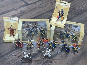 Schleich  Knights  Lot Of 16
