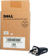 Dell 3130cn WLA3310 Wireless Printer Adapter New K871C USB 2130cn Network Adapte