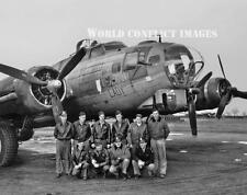 USAAF WW2 B-17 Bomber Leading Lady Crew 8x10 Photo WWII