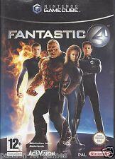 FANTASTIC 4 for Nintendo Gamecube - with box & manual - PAL