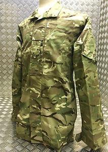 Genuine British Army MTP Lightweight Jacket 2 Warm Weather Camo Pattern - NEW