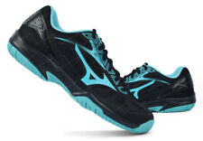 Mizuno Wave Cyclone Speed 2 Badminton Shoes Indoor Unisex Black Mint V1GA198025