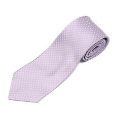 E. MARINELLA Lavender Purple Plus Sign Twinkle Star Men's Silk Neck Tie
