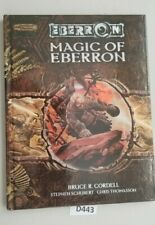 Dungeons and Dragons 3.5 Magic of Eberron Hardcover VG+