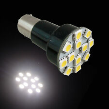 4x RV Interior Reading Ba15s 1156 SMD LED Bulbs WARM WHITE 4000 kelvin P3