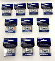 Olympus MC-60 Blank Microcassette Tapes Audio Recording 60 Minutes Box Of 10 NEW