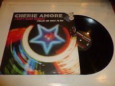 "CHERI AMORE - I don't want nobody - 2000 UK 2-track 12"" vinyl single"