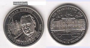 Roman Herzog Medaille unedel ca. 11,93 g ca. 30 mm (mm88) stampsdealer