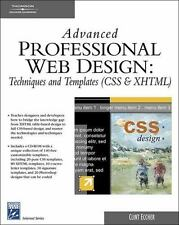 Advanced Professional Web Design : Techniques and Templates, CSS and XHTML by...