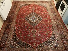 Large stunning pers k-shan wool hand knotted carpet rug 297 x 391 cm size