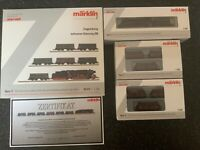 Marklin spur z scale/gauge. Heavy Freight Train Set. Marklin Limited Edition.