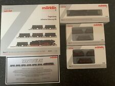 Marklin spur z scale/gauge. Heavy Freight Train Set. Marklin Limited Edition.