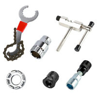 Bicycle Repair Tools Kit MTB Bike Chain Bottom Bracket Crank Remover Wrench #JT1