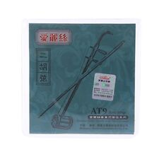 AT9 Erhu Strings Stainless Steel Silver Wound Chinese Violin 1st-2nd Strings