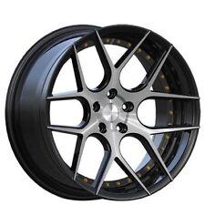 20 Staggered Rennen CSL4 Rims Black Mch Wheels 20x9 20x11 Fit Mercedes CLS SLS