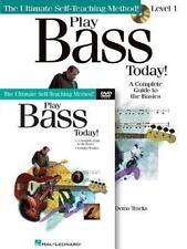 Hal Leonard - Play Bass Today -  Book CD & DVD  - Ultimate Self Teaching Met EB4