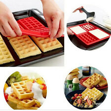 Kitchen Chocolate Cake Mold Silicone Molds Baking Mould Muiti-Shape Waffle Mold