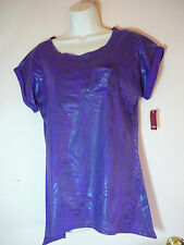 No Boundaries Top Size S Purple  Sleeveless NWT Casual Cotton Solid