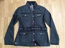Ladie VOI jeans ceinture fashion veste style willow bleu foncé taille 10