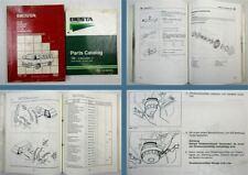 Kia Besta Werkstatthandbuch Ersatzteilliste Parts Catalog 1995