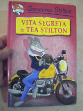 """GERONIMO STILTON """" VITA SEGRETA DI TEA STILTON """" PIEMME JUNIOR -"""