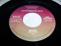 "OLIVIA NEWTON-JOHN - MAGIC / FOOL COUNTRY - 1980 POP 7"" 45, MCA-41247 (VG+)"