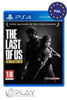 The Last Of Us Remastered PS4 Juego Físico - Nuevo y Precintado