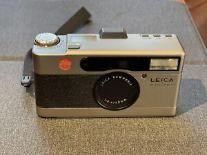 (MINT with Genuine Leather Case )Leica Minilux Summarit 40mm F/2.4 German
