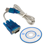USB 2.0 TO SERIAL RS232 DB9 9 PIN ADAPTER CABLE PDA cord GPS CONVERTER +CD YJ