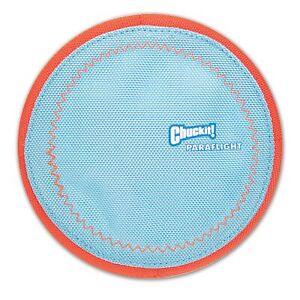 Chuckit! Paraflight Flyer Floatable Frisbee Dog Toy Small