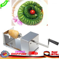 Kartoffel Spiral Schneider Spiralschneider Chips Slicer Twister Schälmaschine DE