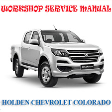 HOLDEN CHEVROLET COLORADO 2012-2017 WORKSHOP SERVICE MANUAL (DIGITAL e-COPY)