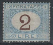 ITALY - 1870 Tax Sassone n.12 cv 5200$ unused SUPER CENTERED
