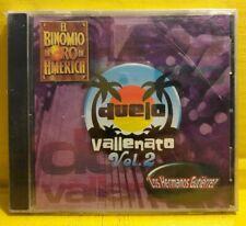 Duelo Vallenato Vol. 2 - CD (2004) Nuevo Sellado Hermanos Gutierrez