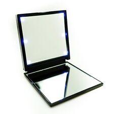 Miroir de poche 6 LED Noir *** Offre Fin de Série ***