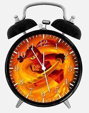"Lego Ninja Ninjago Alarm Desk Clock 3.75"" Home or Office Decor X58 Nice For Gift"