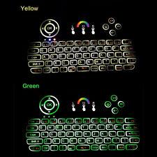 Portable mini keyboard i86 White light Backlit Wireless Keyboard with Touchpad