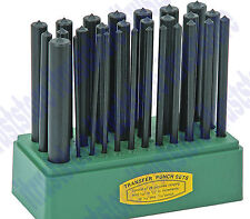 28 Pc Transfer Punch Set Center Round Hole Transferring