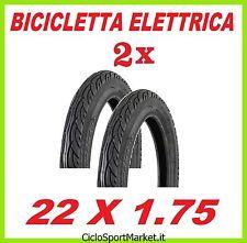 2 x NEUMÁTICOS CUBIERTAS neumáticos 22 x 1.75 ideales FURGONETA / BICI NIÑO