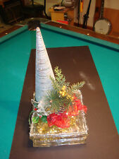 Christmas Tree Tabletop Center Piece. Contemporary Stylish