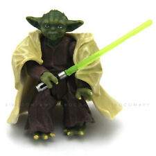 "NEW Star Wars Yoda 2004 Empire Strikes Back- Action Figure 2"" hasbro toy doll"