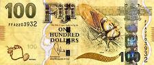 100 Fiji Dollar Banknote, VF, 2013 Version, Serial#FFA2203932, FREE SHIPPING!!