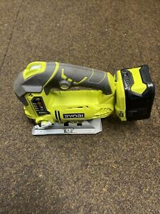 Ryobi R18JS ONE+ Jigsaw with LED, 18V- Body And Battery 6.0ah