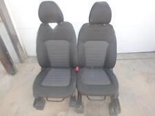 15-17 FORD EDGE FRONT SEAT BLACK CLOTH MANUAL OEM DRV PASS