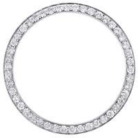 Diamond Bezel For Ref. # 126300 NEW Rolex DateJust 41 Watch 4 Points 2.03 CT.