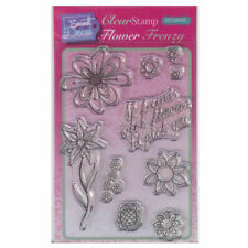 New listing Sweet Dixie A6 Clear Stamp Set - Sdcsa6042 Flower Frenzy