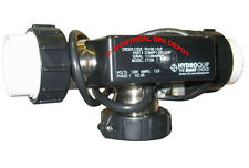 "Hydroquip PURE HEAT in-line ""T""-style bath heater 1.5kw 120V w/ pressure switch"