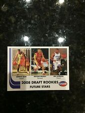 2008 OMR Rookie NBA Basketball Card Derrick Rose Michael Beasley Eric Gordon
