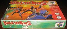 Dual Heroes (Nintendo 64, 1998) Brand NEW!